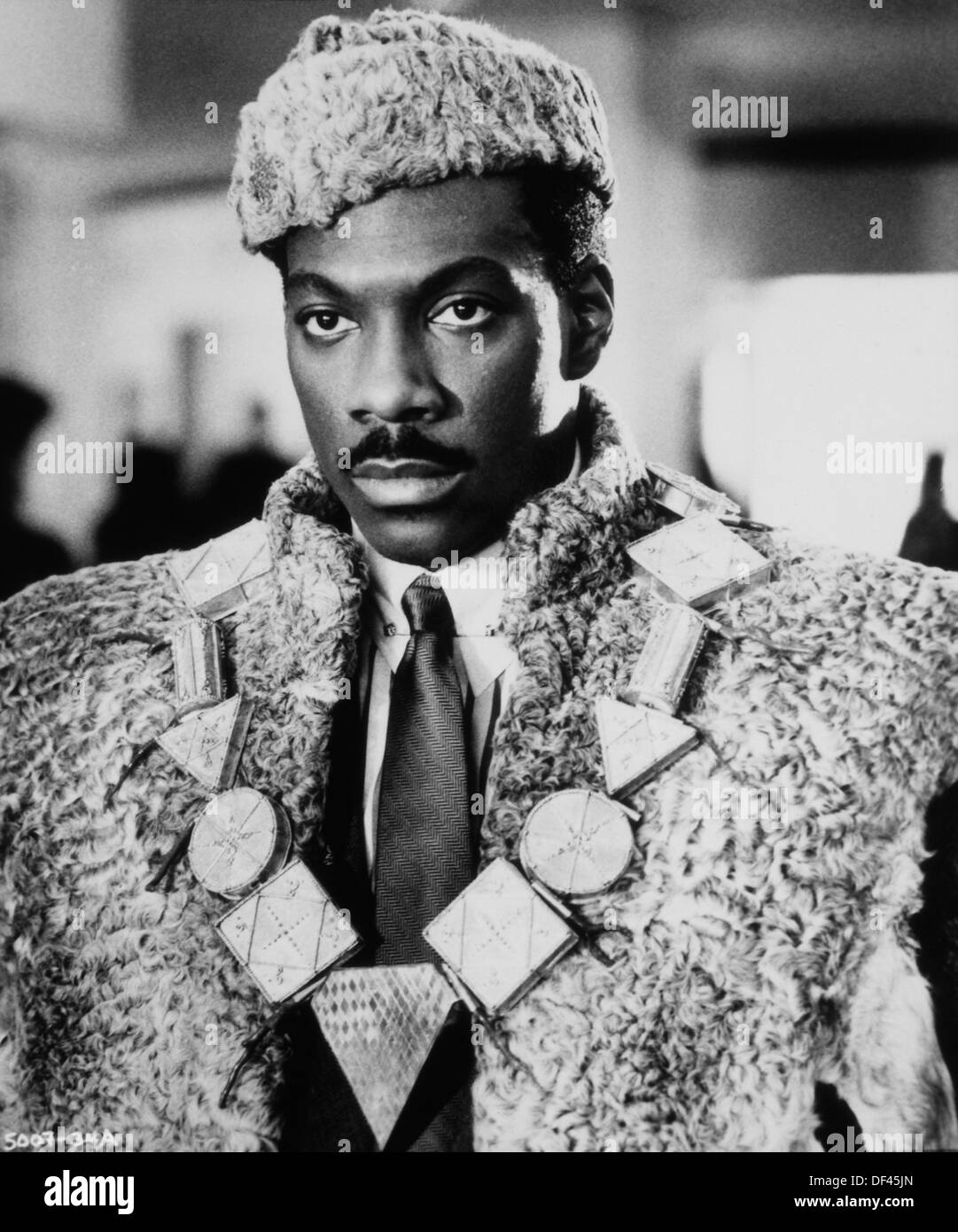 "Eddie Murphy, On-Set of the Film, ""Coming to America ..."