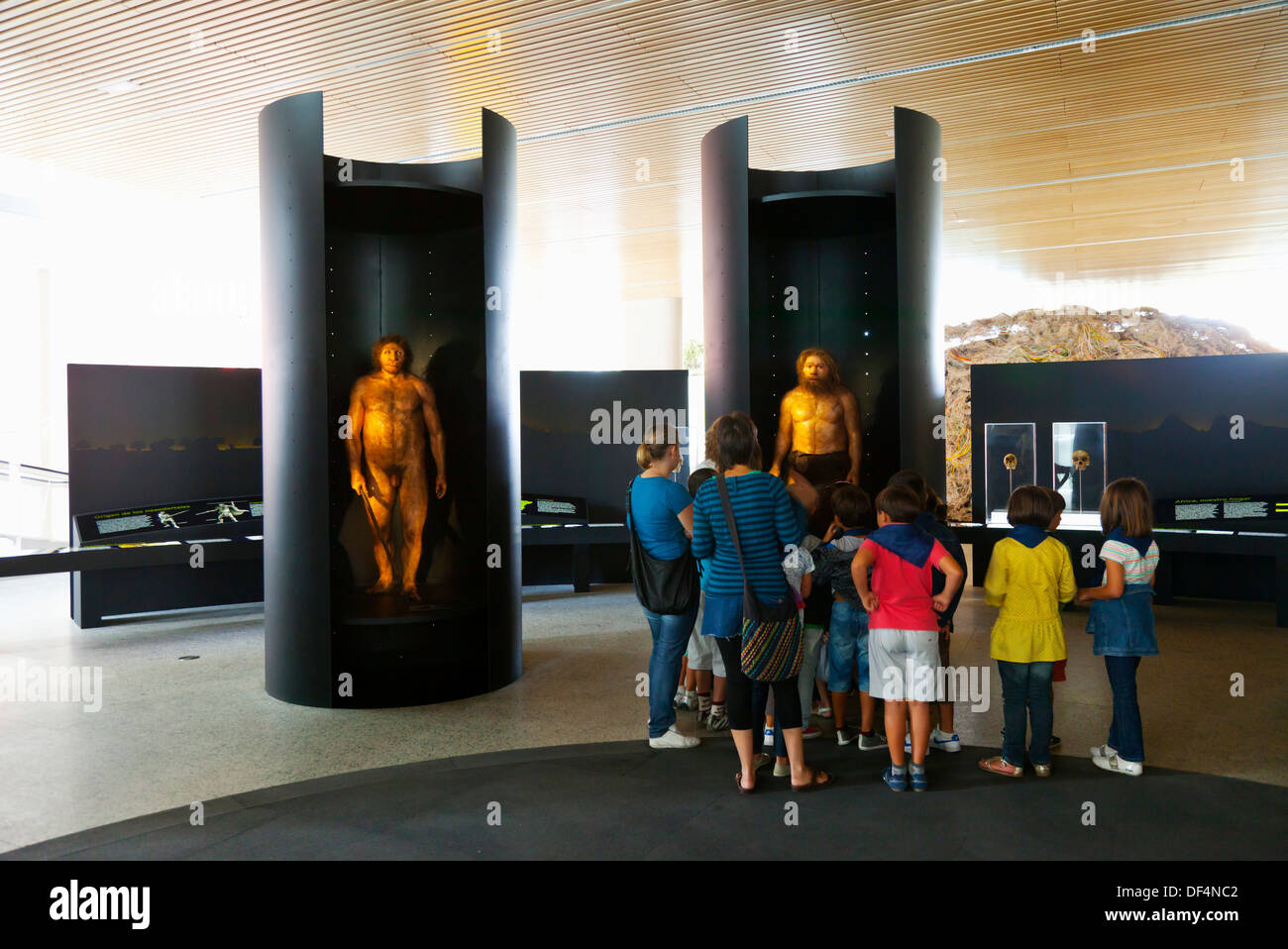 Museum of Human Evolution, Burgos, Castilla León, Spain Stock Photo, Royalty ...