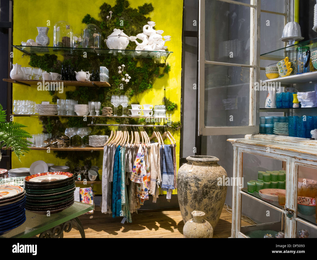 anthropologie store interior nyc stock photo royalty free image 60960959 alamy. Black Bedroom Furniture Sets. Home Design Ideas