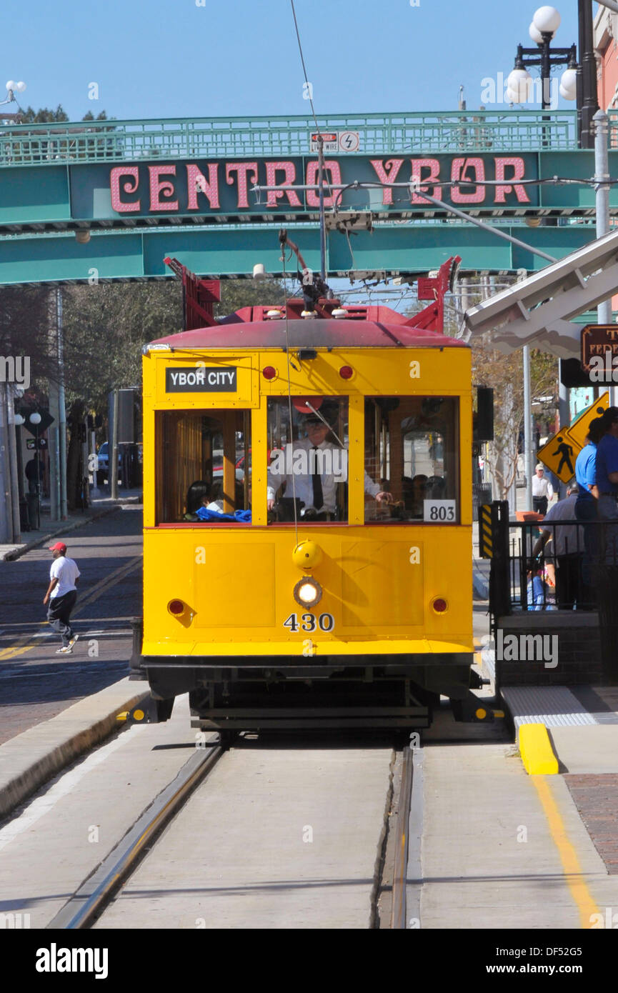 Trolly Car History In Ybor City And Tampa Fl