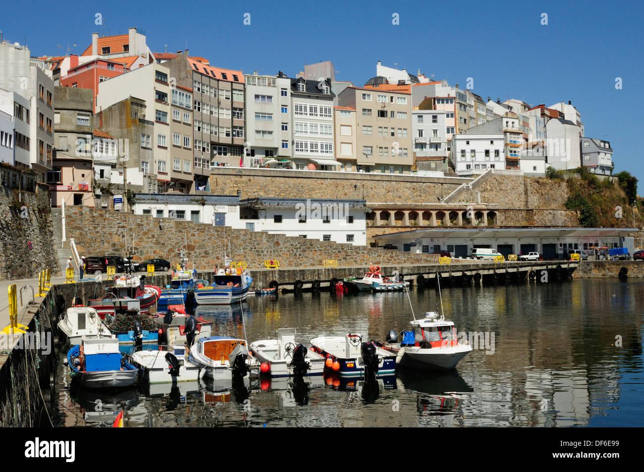Port of Maplica - municipality of Malpica de Bergantinos