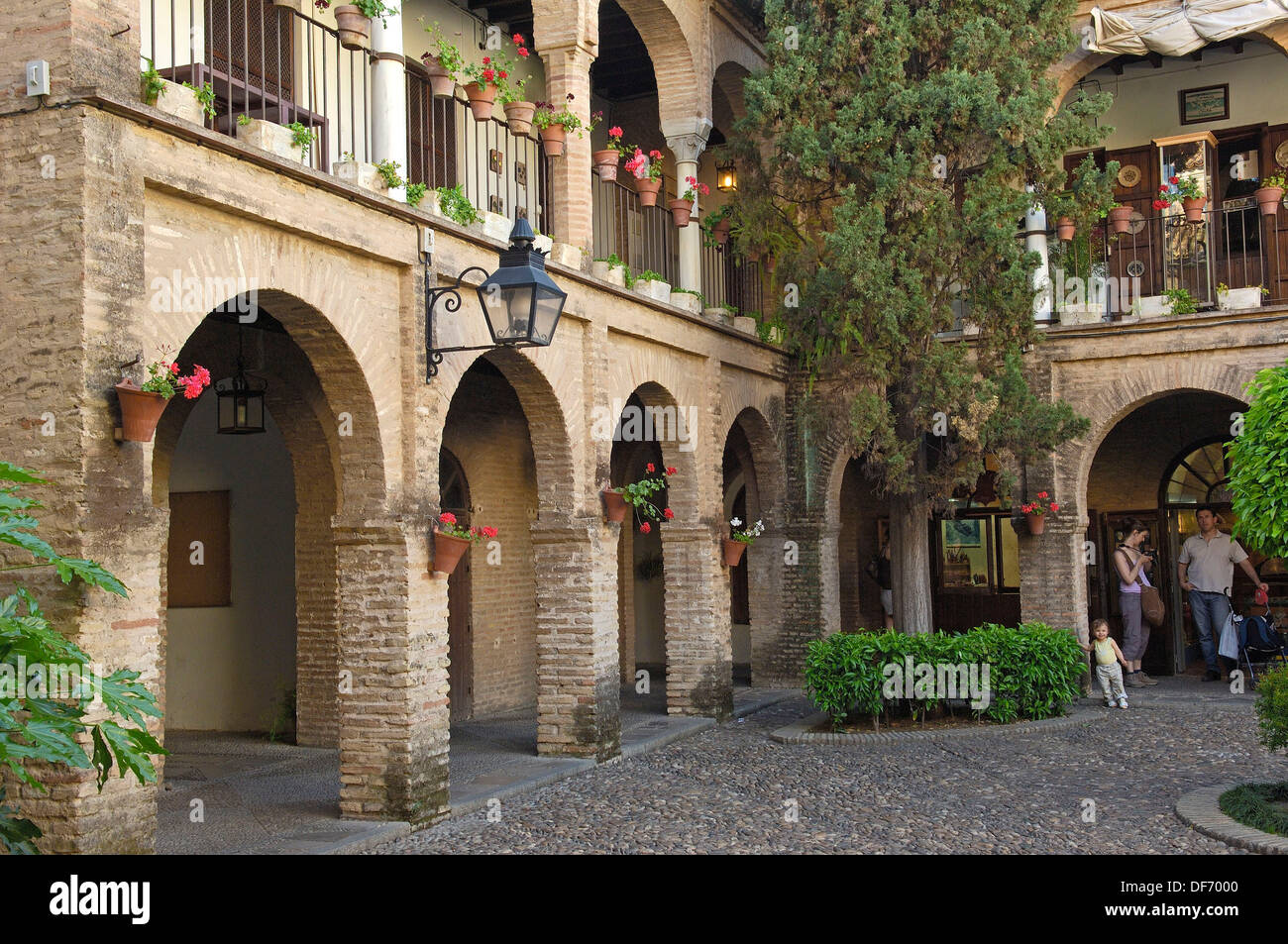Old Souk at ´la judería´. Jewish quarter. Córdoba. Andalusia. Spain Stock Pho...