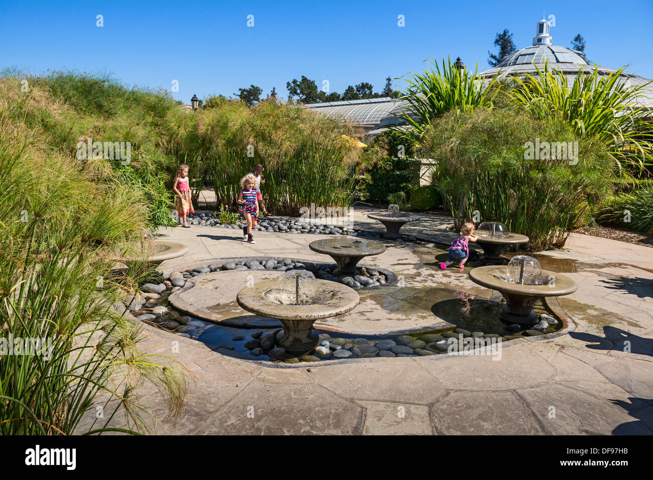 The Whimsical Children 39 S Garden At The Huntington Library And Stock Photo Royalty Free Image