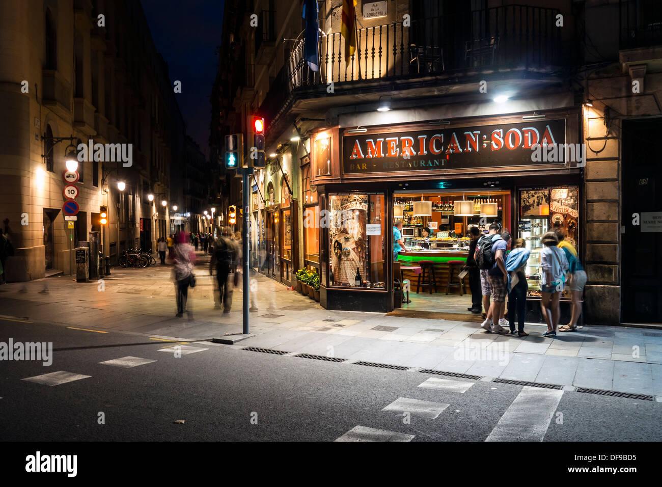 city street corner at night - photo #19