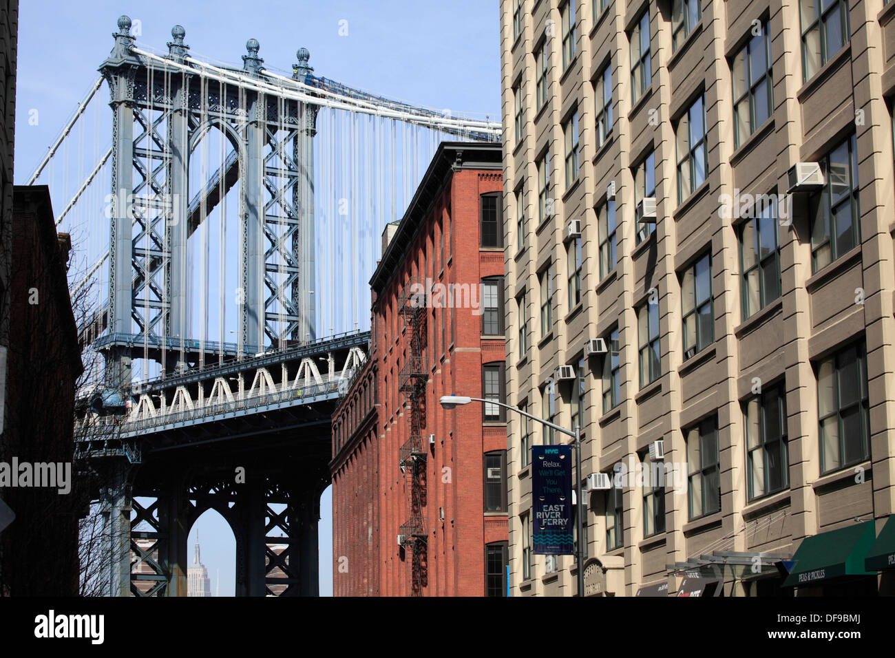 Apartment Building Brooklyn apartment building in the dumbo neighborhood of brooklyn with