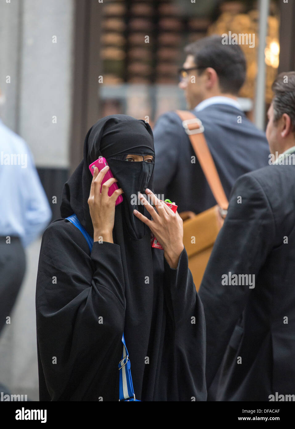 telephone muslim The term 'muslim culture' is used broadly to represent many diverse muslim maintaining eye contact when talking might make muslim women and the elderly.