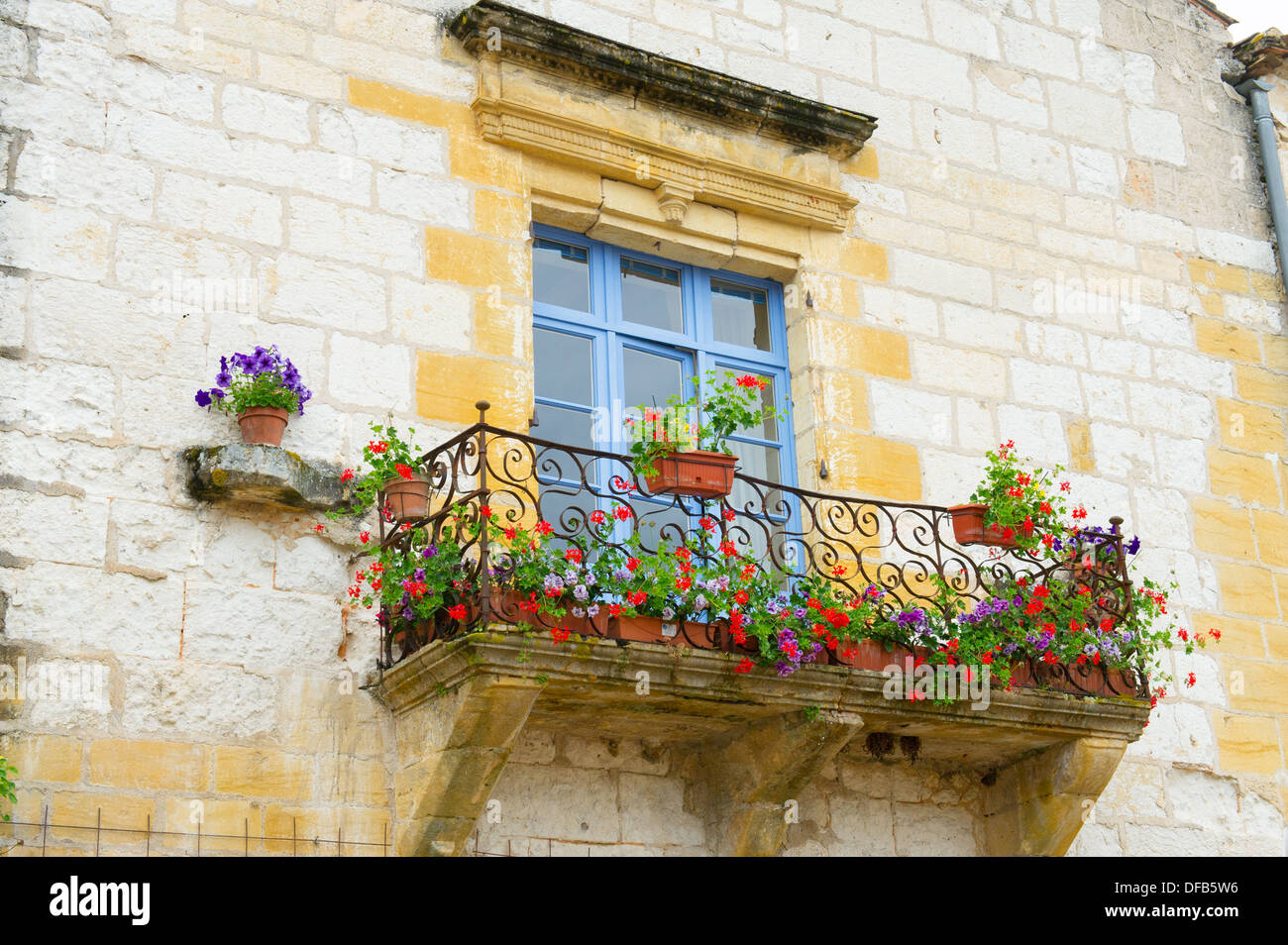 French balcony with flowers stock photo royalty free for What is a french balcony