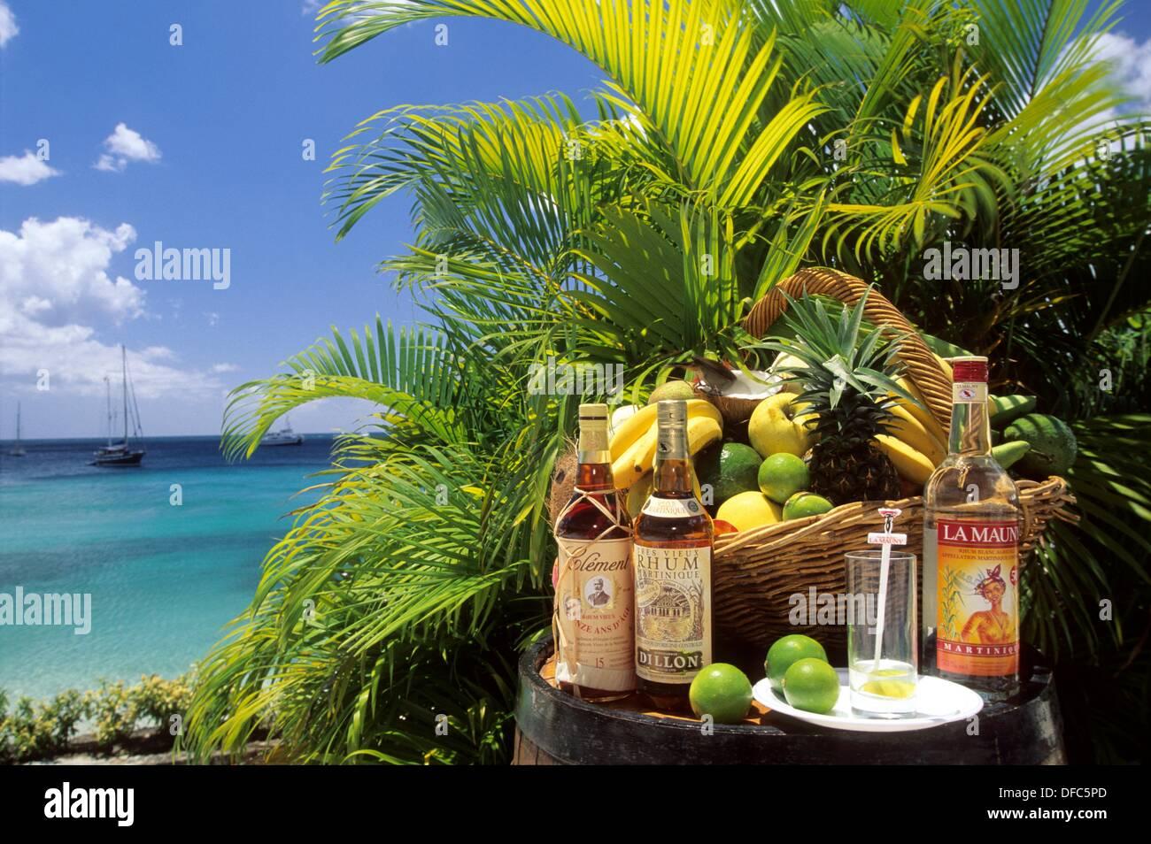 Préférence differentes marques de rhum martiniquais Ile de la Martinique  HI53