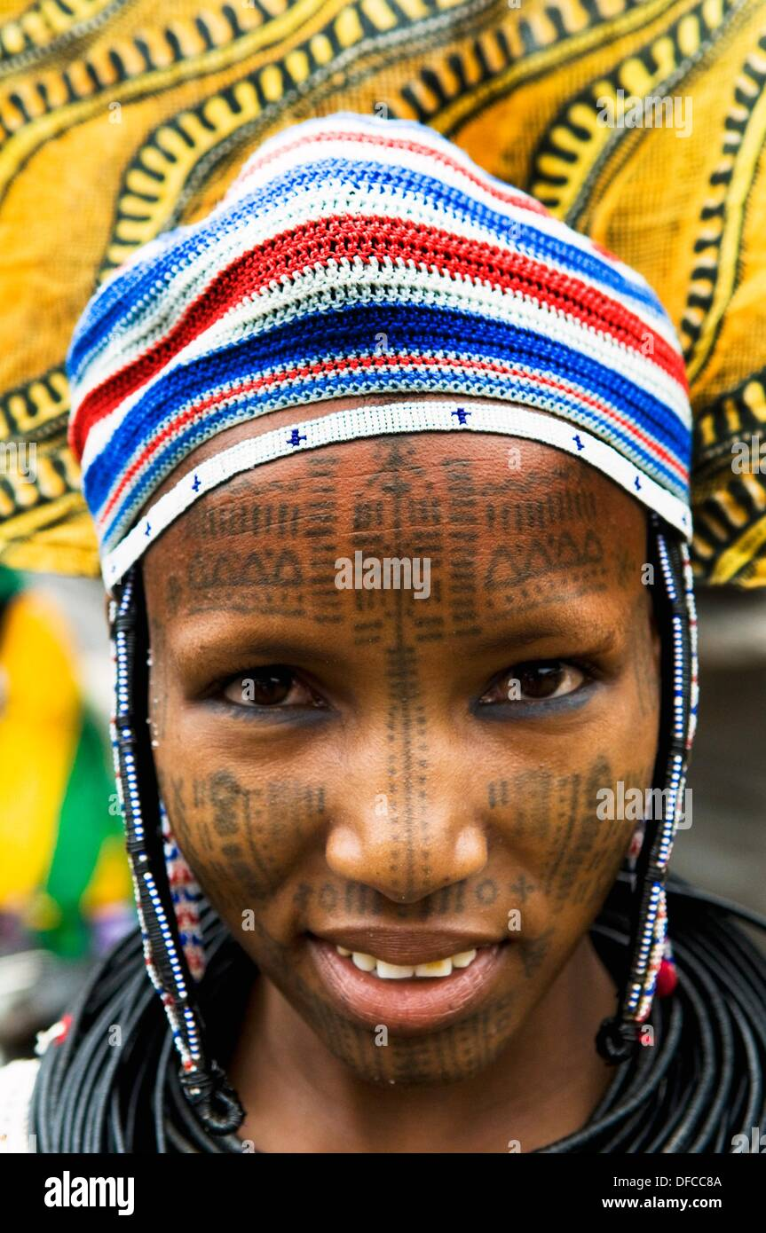 Facial scarring in fulani tribe good when
