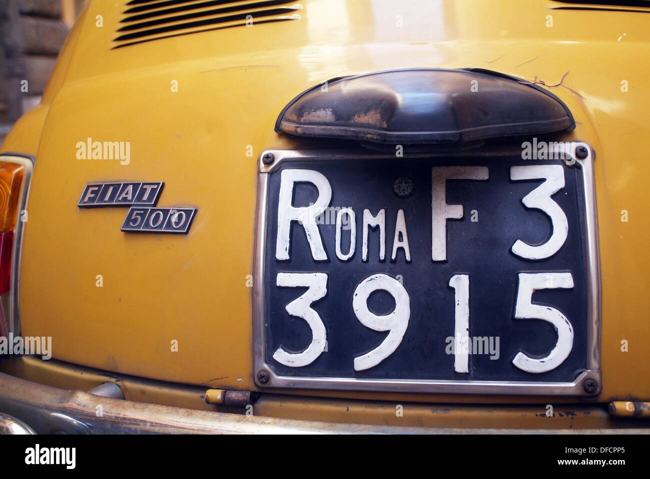Classic car registration Stock Photo, Royalty Free Image: 61132237 ...