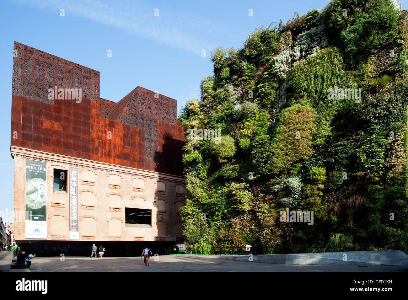 CaixaForum Museum and culture center, constructed by the ...