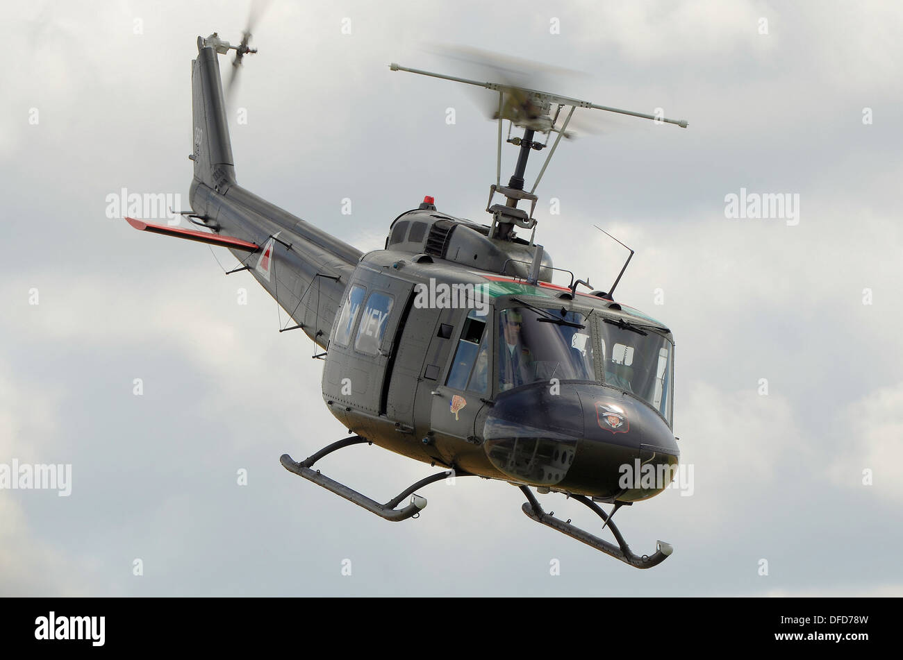 Uh 1 Elicottero : A bell uh huey helicopter at an air display the