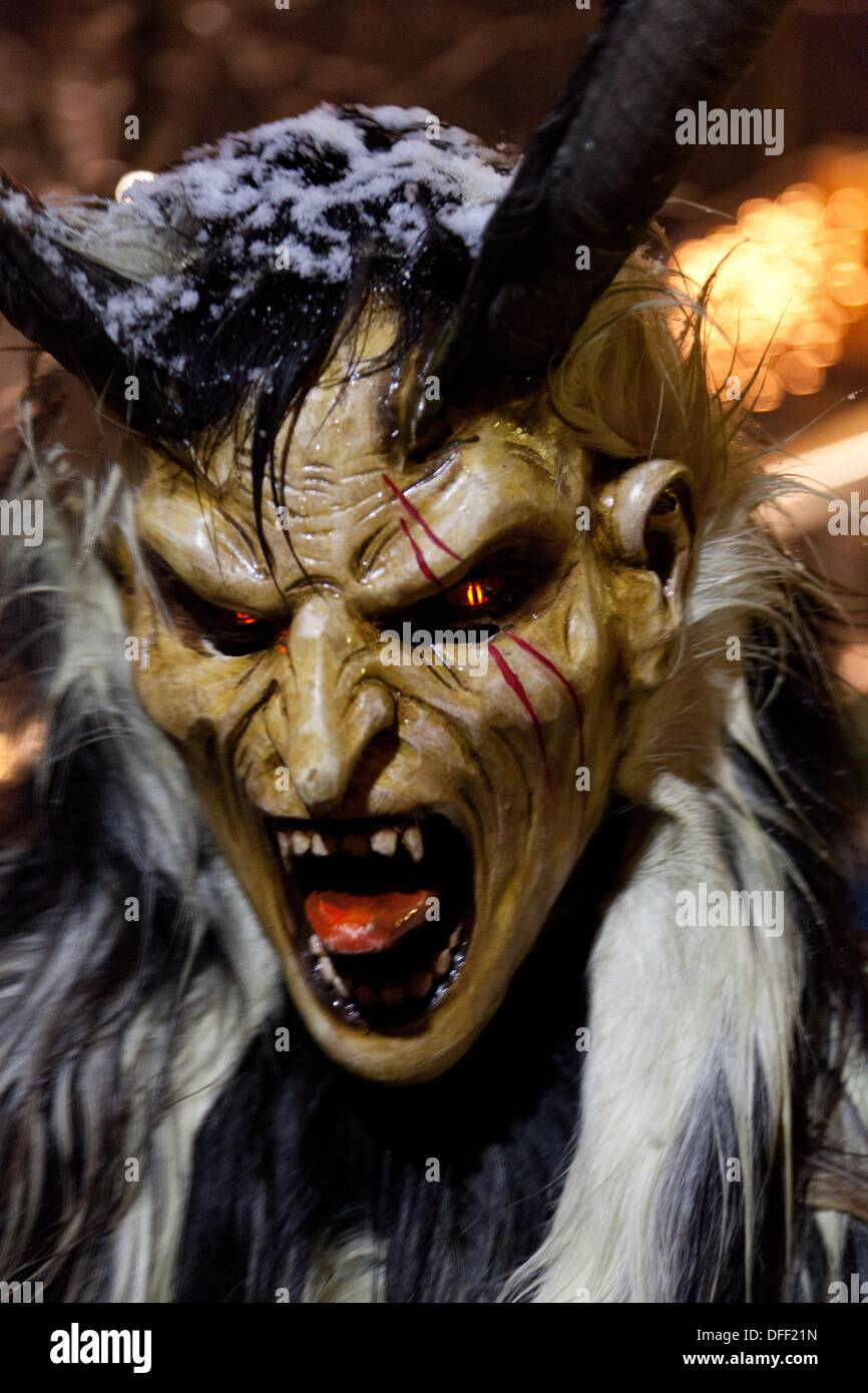 Krampus costume for sale - Krampus Is A Mythical Creature Recognized In Alpine Countries Campo Tures South Tyrol