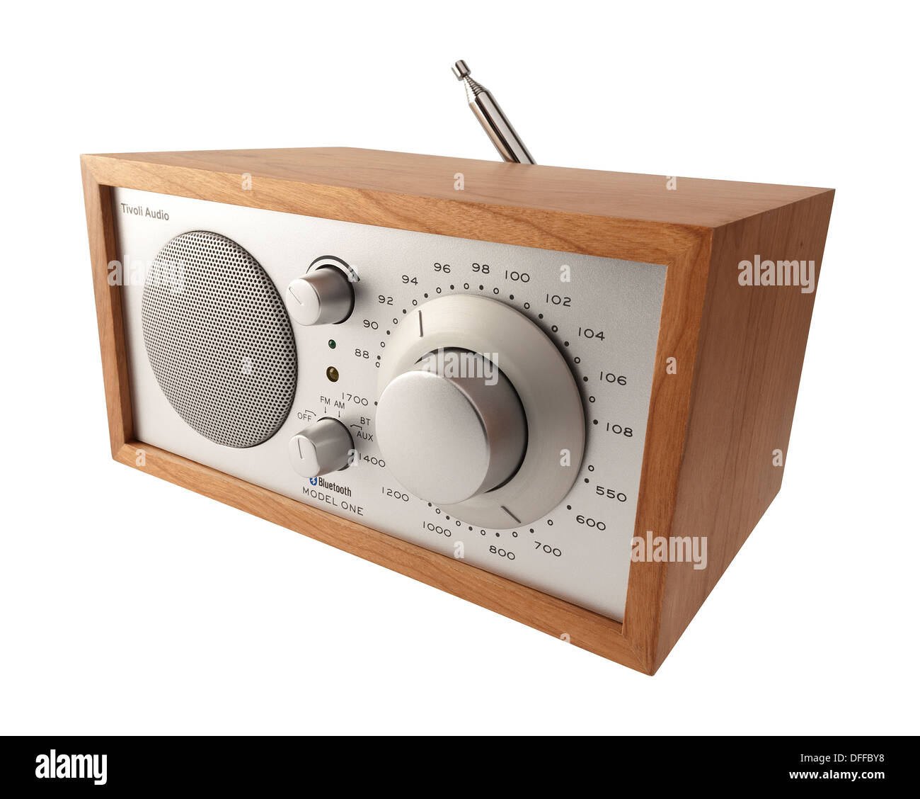 tivoli audio dab radio model one stock photo royalty free. Black Bedroom Furniture Sets. Home Design Ideas
