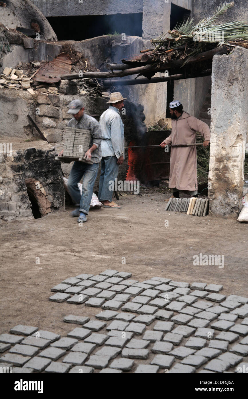 Preparing zellige ceramic tiles at hadj driss khomsi zellige preparing zellige ceramic tiles at hadj driss khomsi zellige factory at an nokbi outside fes morocco dailygadgetfo Choice Image