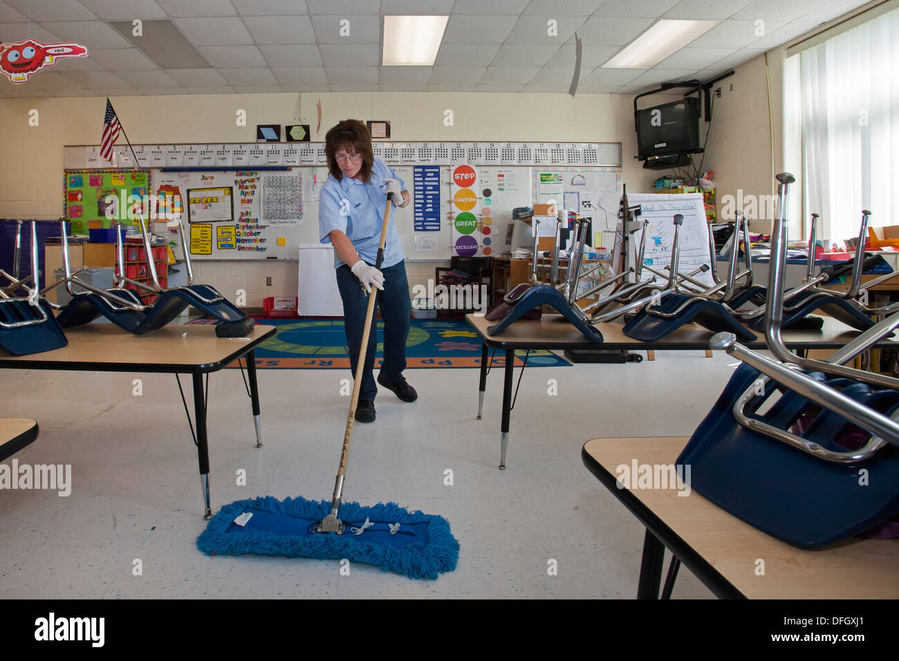 Image Gallery School Custodian