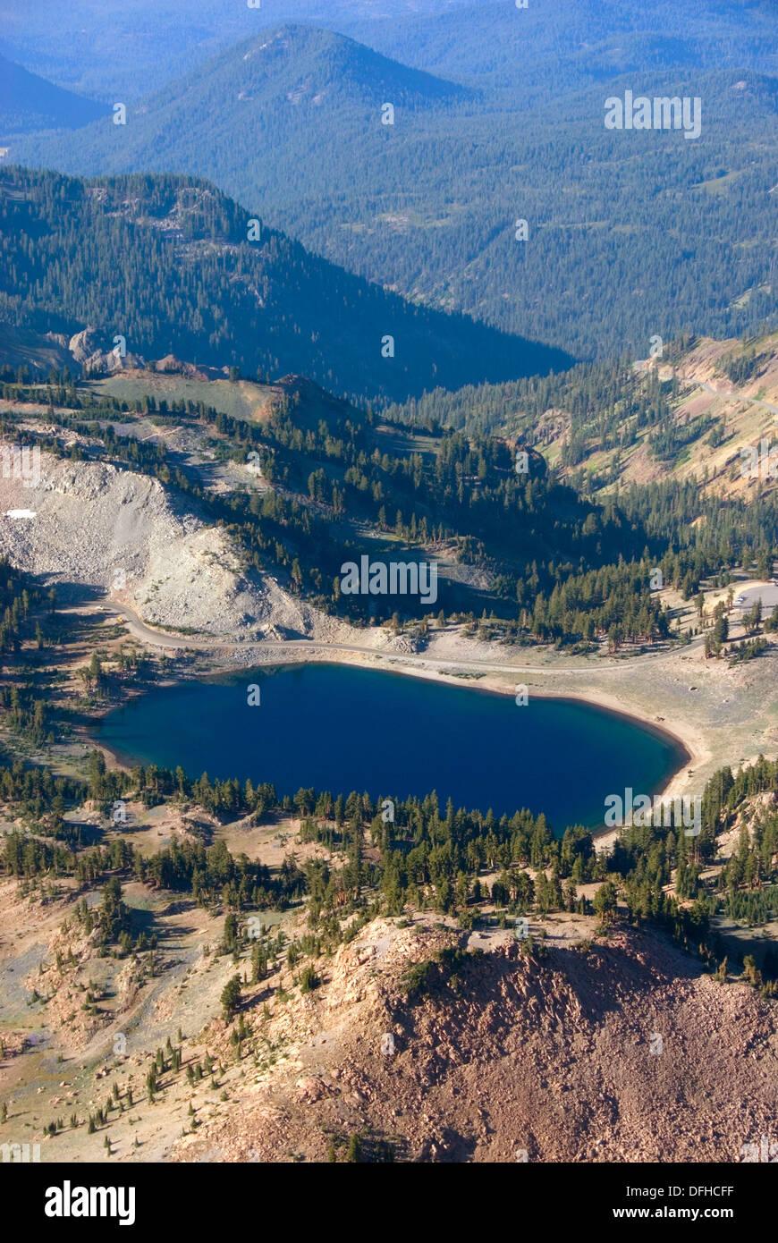 Lassen Volcanic National Park Lake Helen