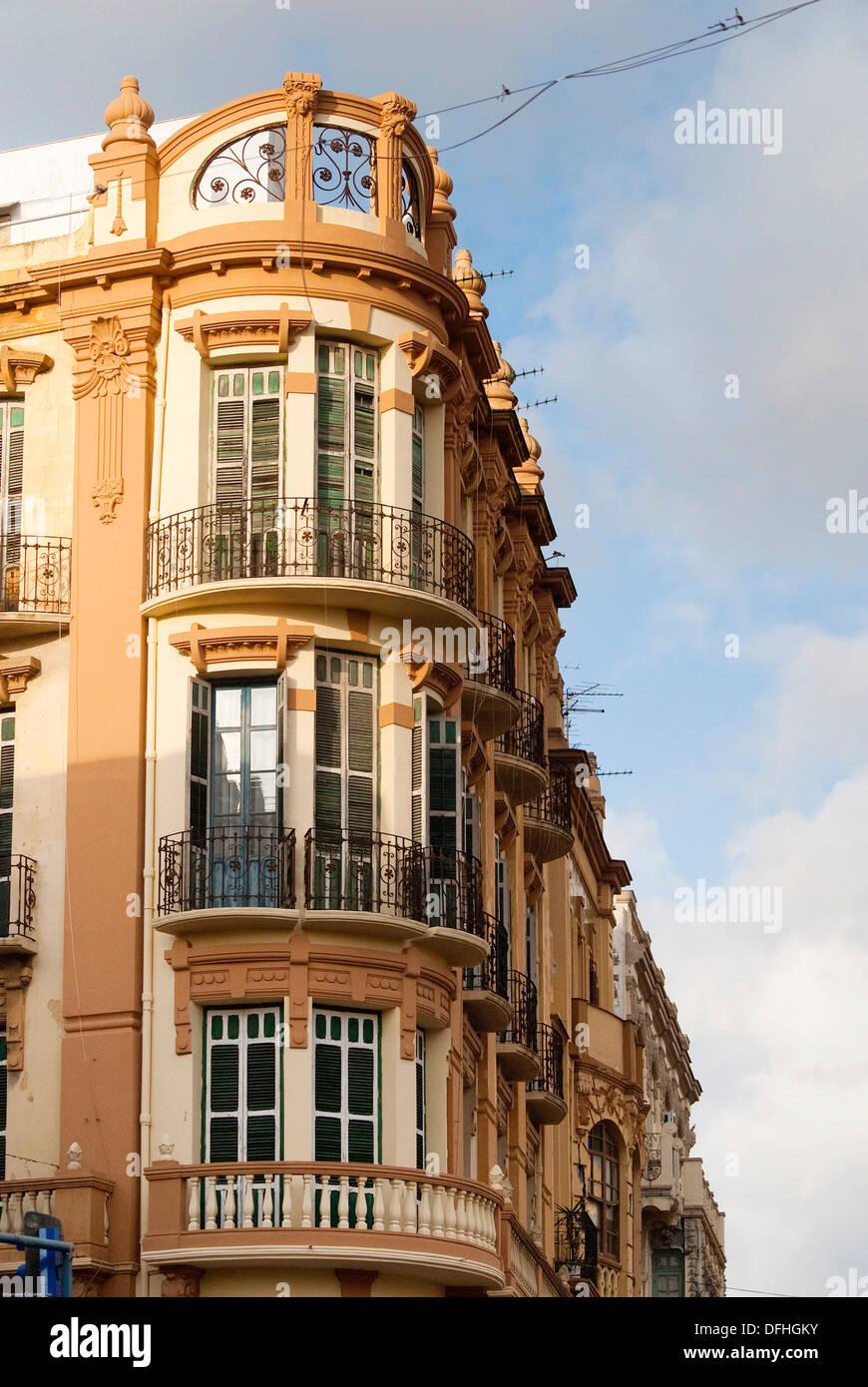 Modernist art deco building juan carlos i avenue melilla - Art deco espana ...