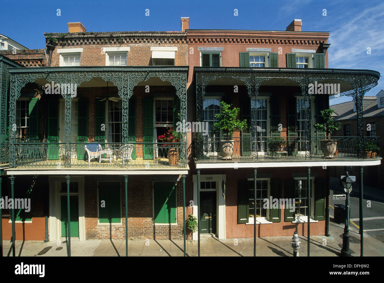 Stock photo luxury hotel soniat house chartres street french quarter neighborhood new orleans louisiana united states of america