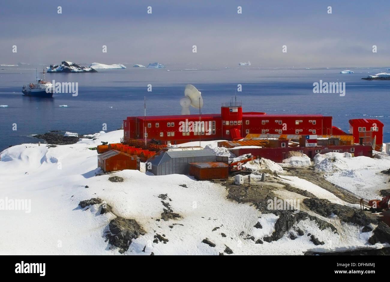 Bernardo O 180 Higgins Station A Chilean Base On Antarctica
