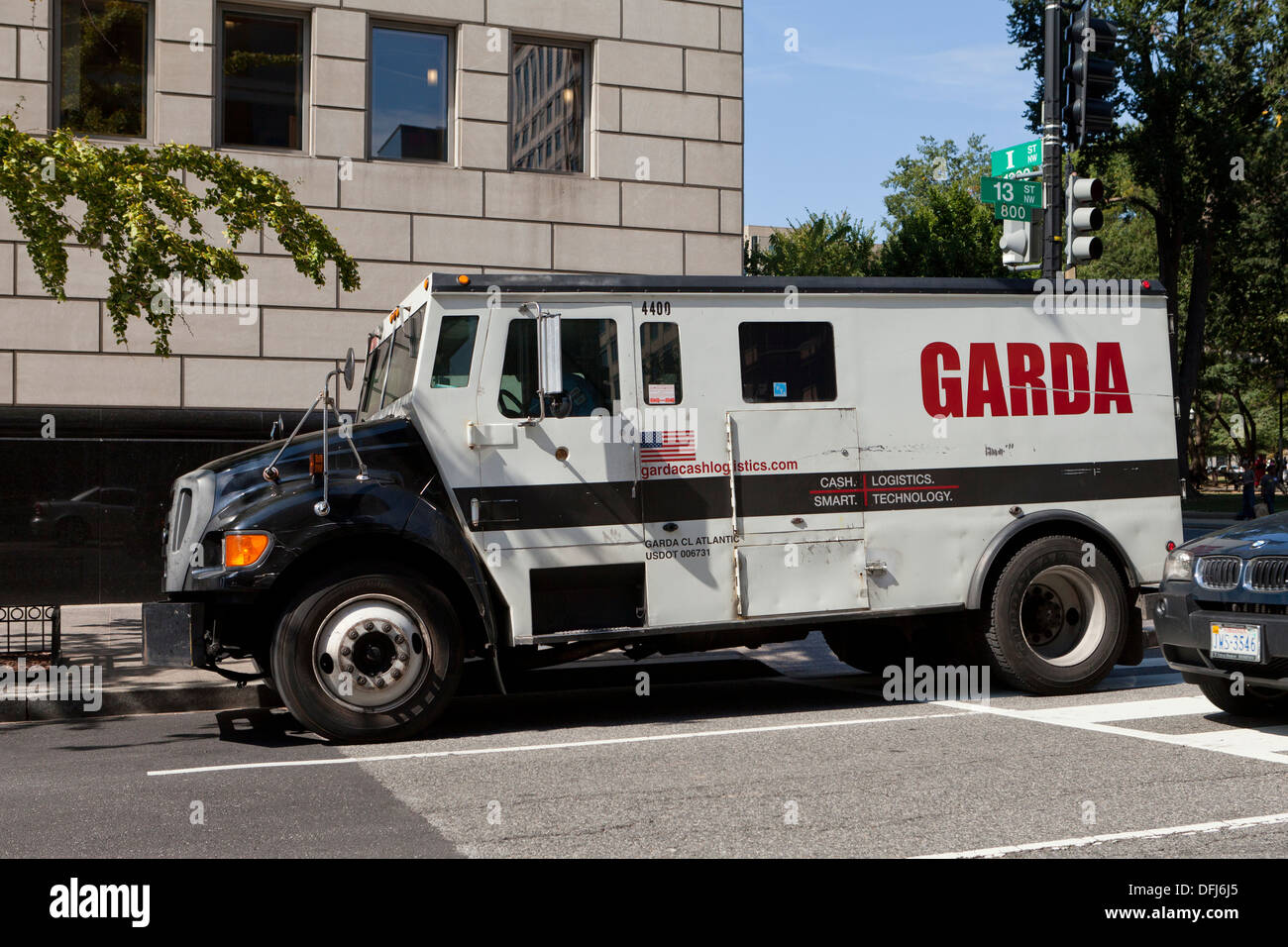 Garda armored truck Stock Photo, Royalty Free Image: 61251293 - Alamy