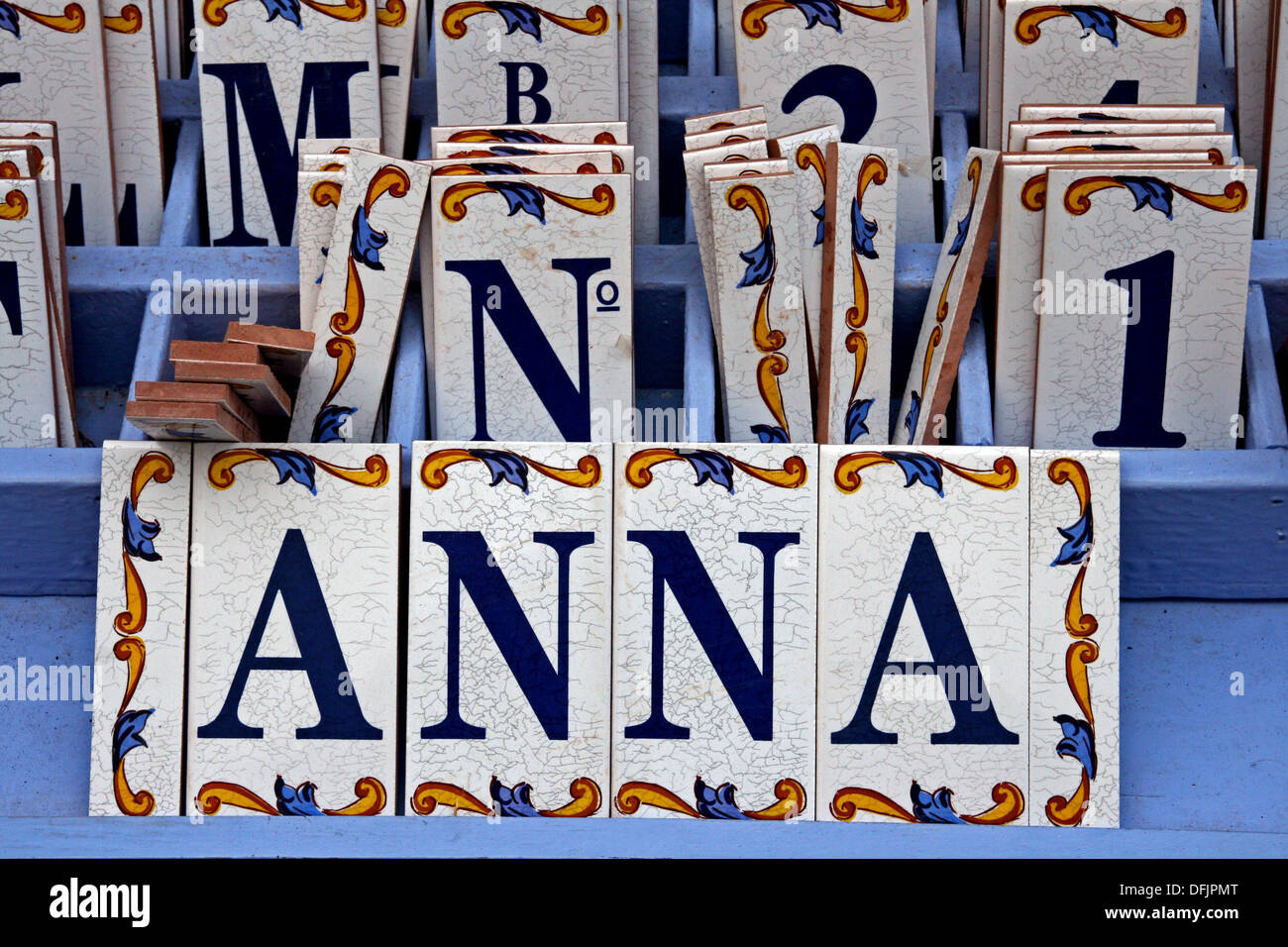 Ceramic letter tiles gallery tile flooring design ideas name ceramic letter tiles stock photo royalty free image name ceramic letter tiles doublecrazyfo gallery dailygadgetfo Gallery