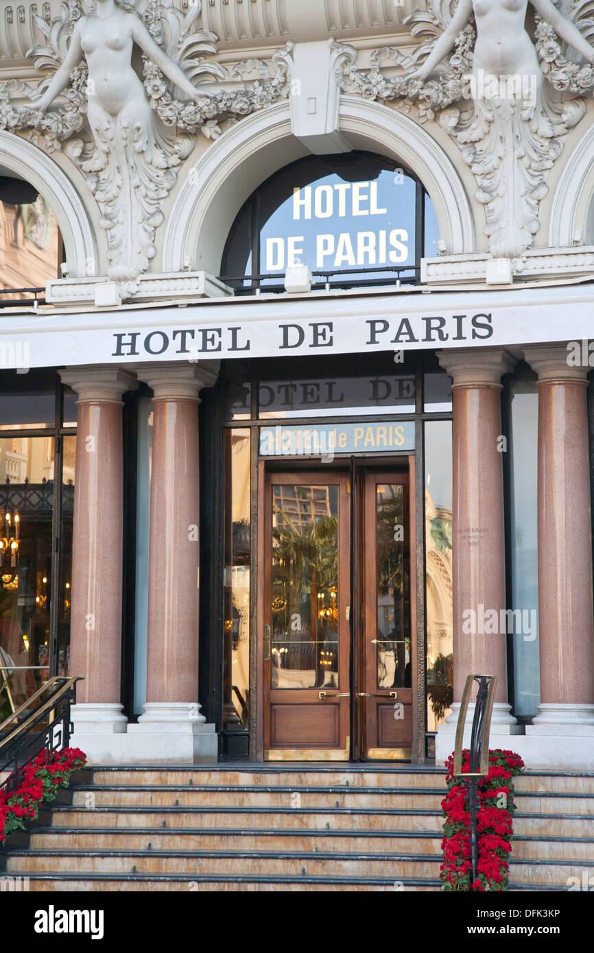 hotel de paris art deco entrance in monte carlo monaco stock photo royalty free image. Black Bedroom Furniture Sets. Home Design Ideas