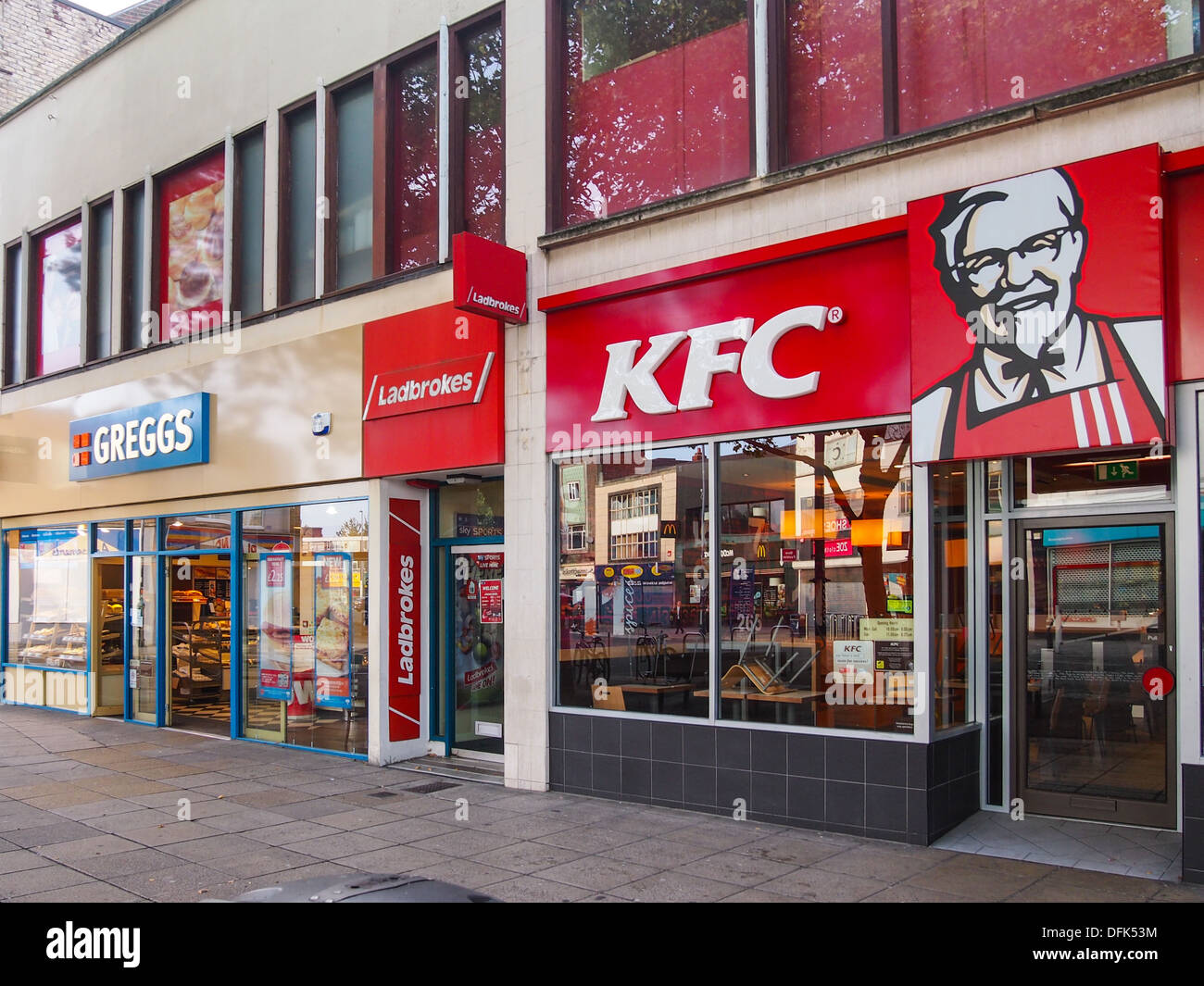 Fast Food Places Uk