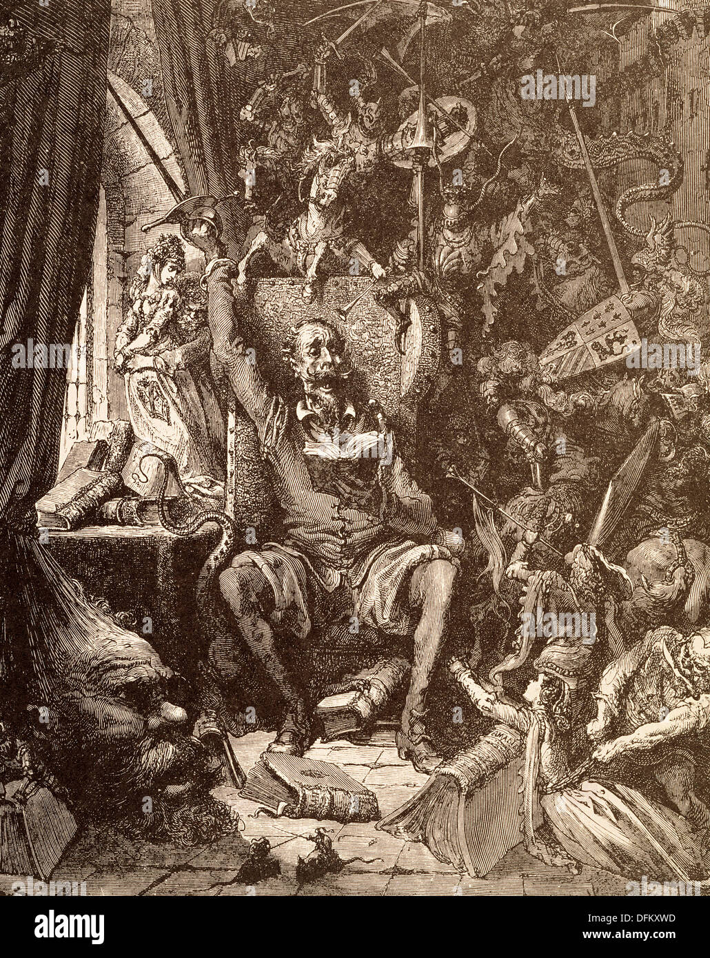 this is about don quixote and his insanity essay 2015-3-23 does don quixote's disregard for social convention change the rules of  this essay has been  to estrange don quixote from his way of.