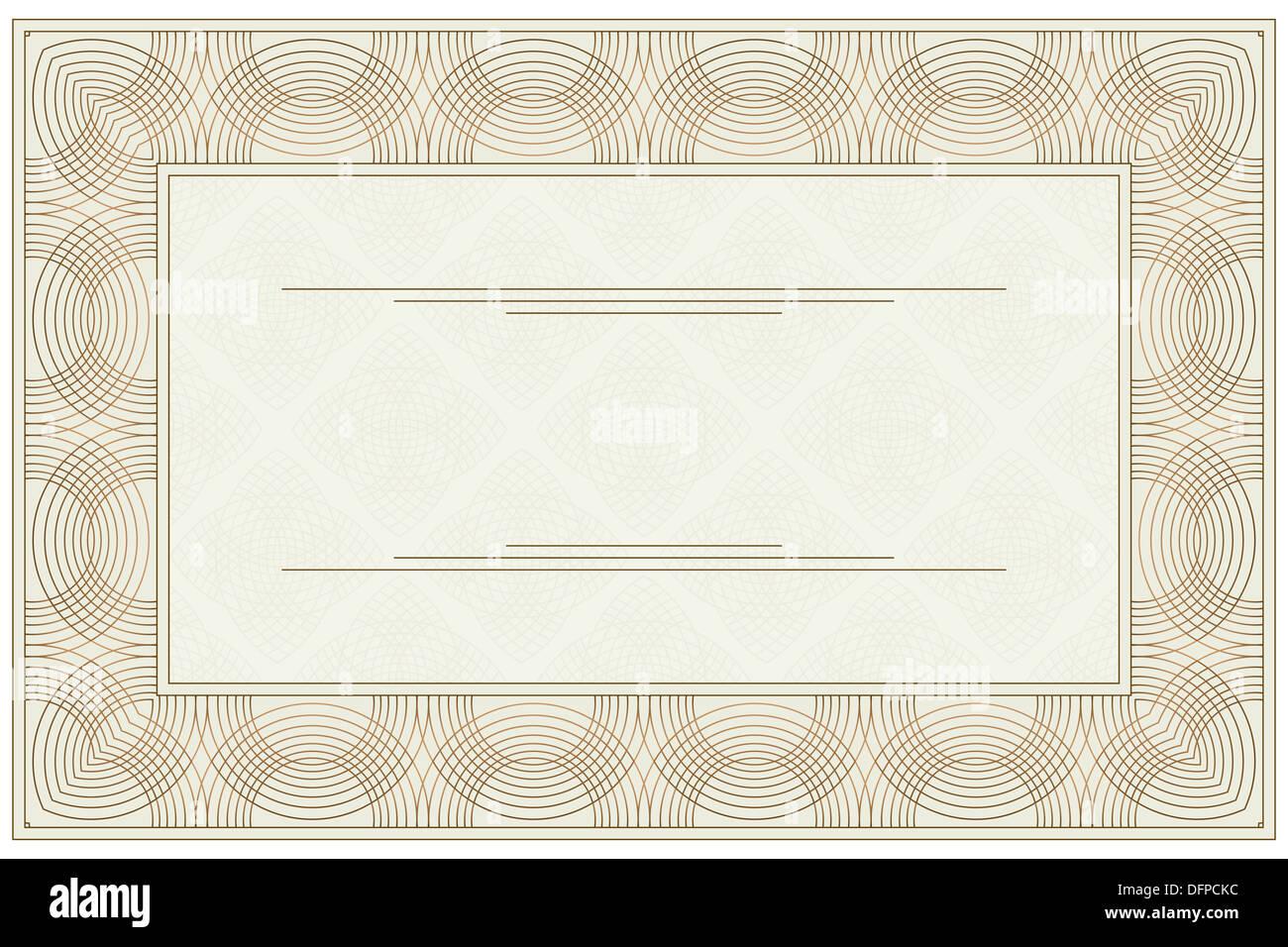 Blank voucher Photo Royalty Free Image 61343840 Alamy – Blank Voucher