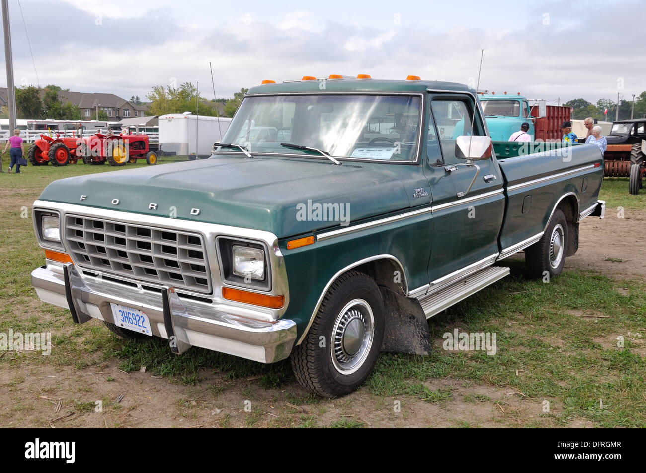 Old Ford truck on display at Milton fairground, Ontario, Canada ...