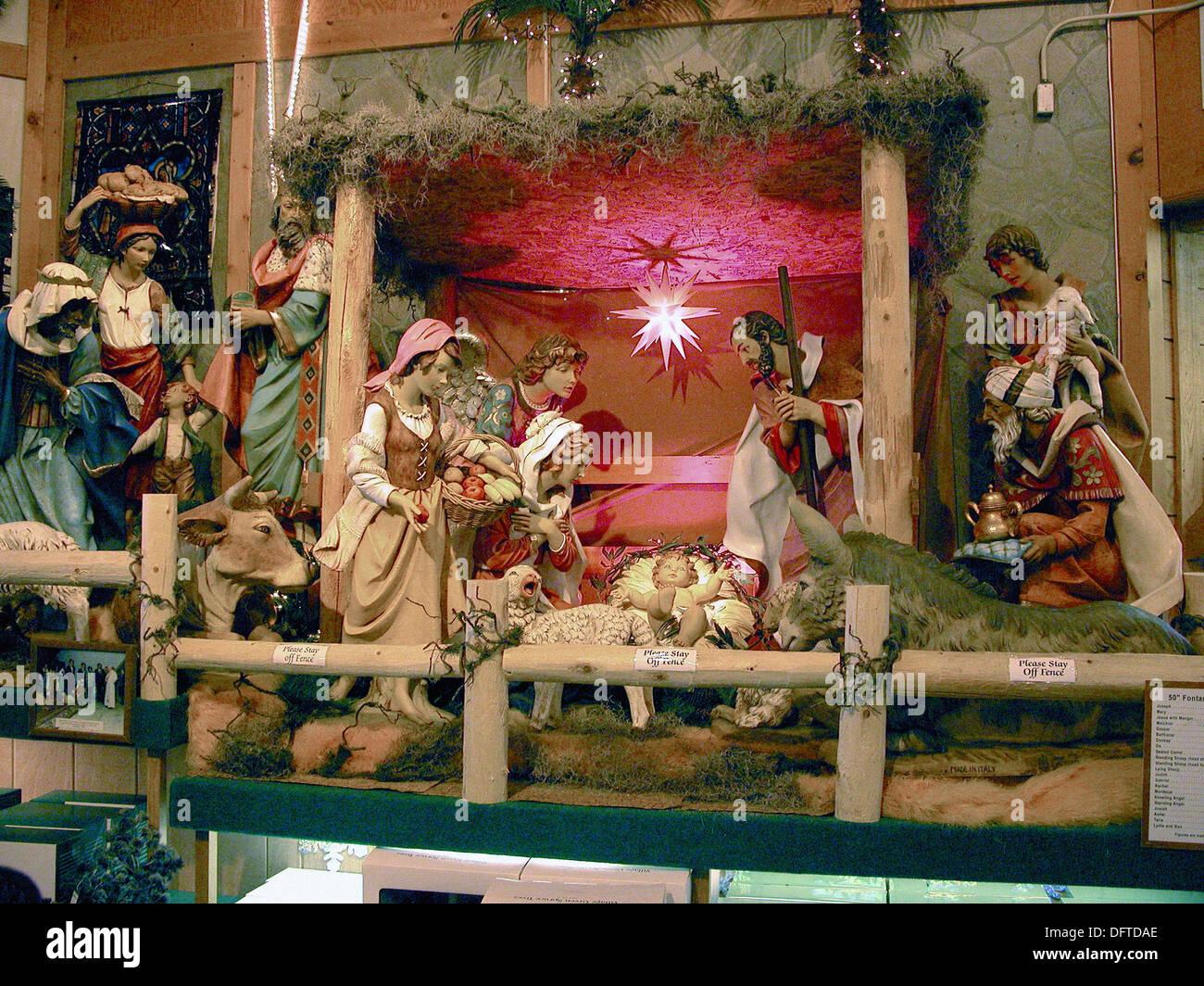 Bronner´s Christmas store. Frankenmuth, Michigan. USA Stock Photo ...