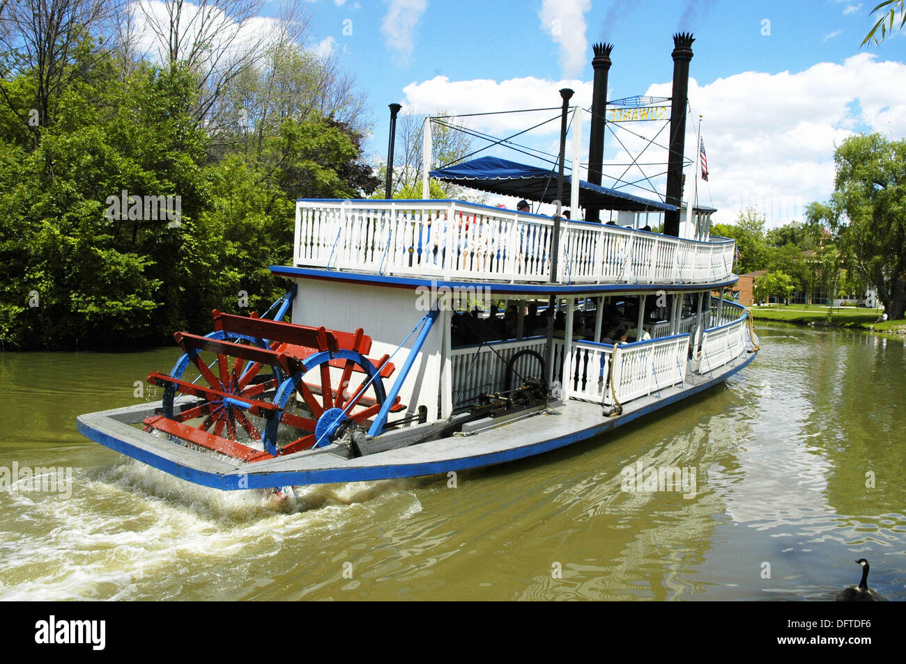 Suwanne Riverboat at Historic Greenfield Village and Henry Ford