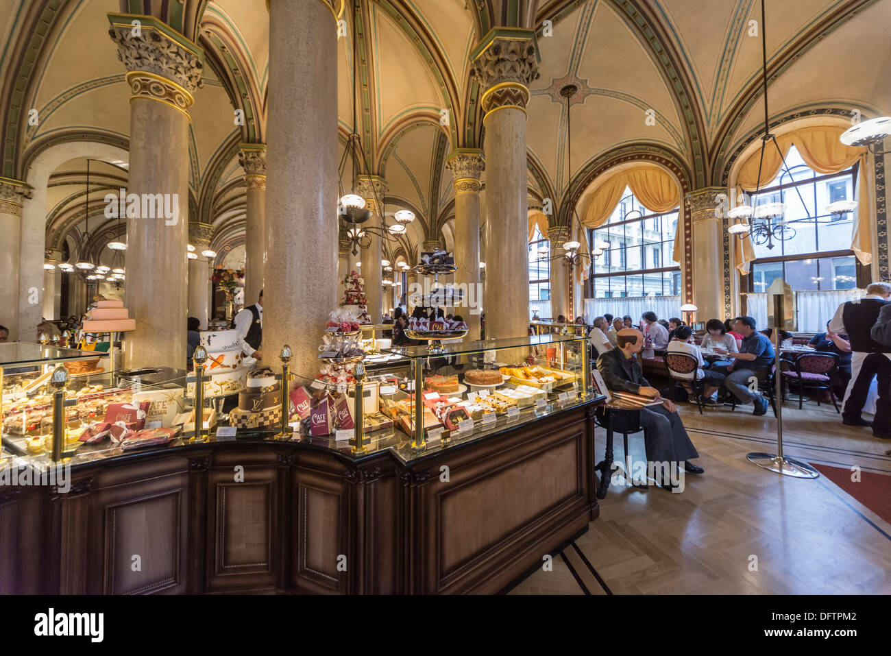 Cafe central vienna vienna state austria stock photo for Food bar vienna