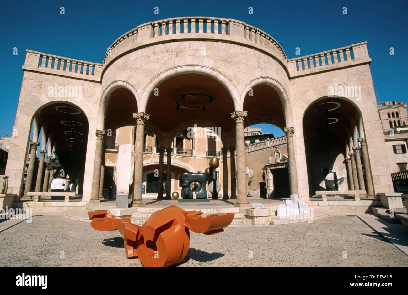 Palau March, Museu d´Art Espanyol Contemporani (Spanish Contemporary Stock Ph...