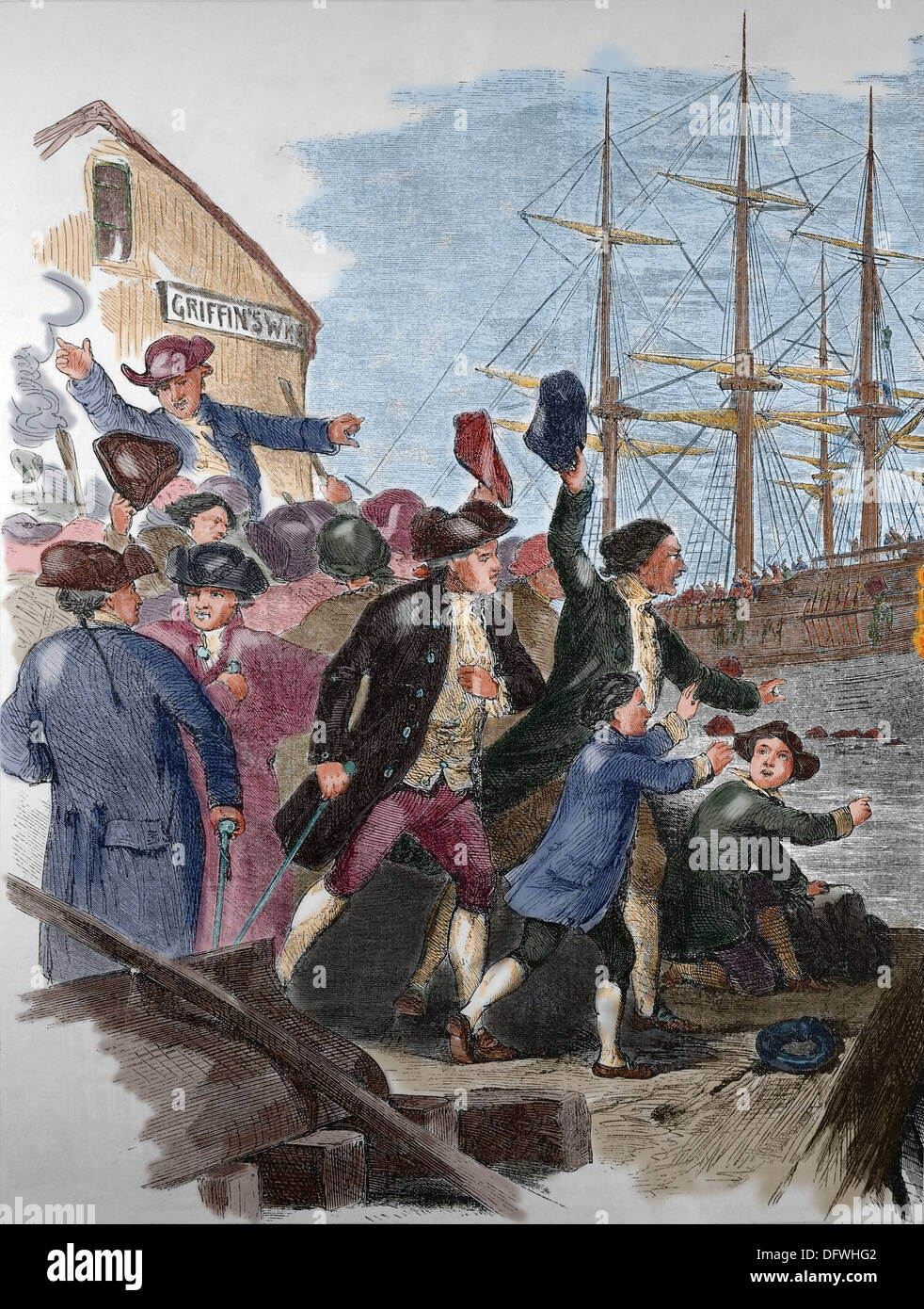 account of the boston tea party The interactive exhibits and exquisite attention to historical detail make this a museum that every visitor to boston  the boston tea party ships.