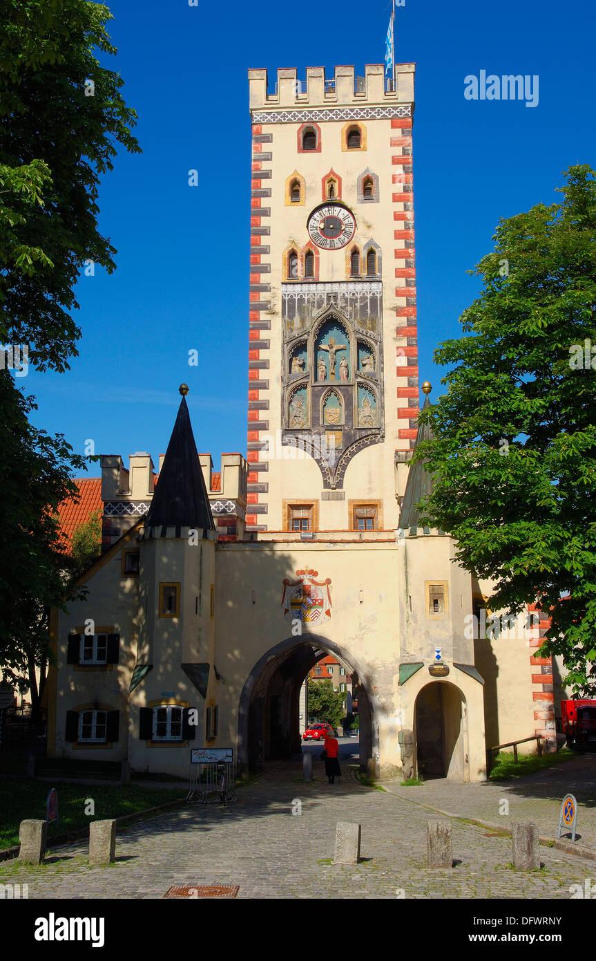Landsberg am lech bayertor historic town gate romantic - Landsberg mobel ...