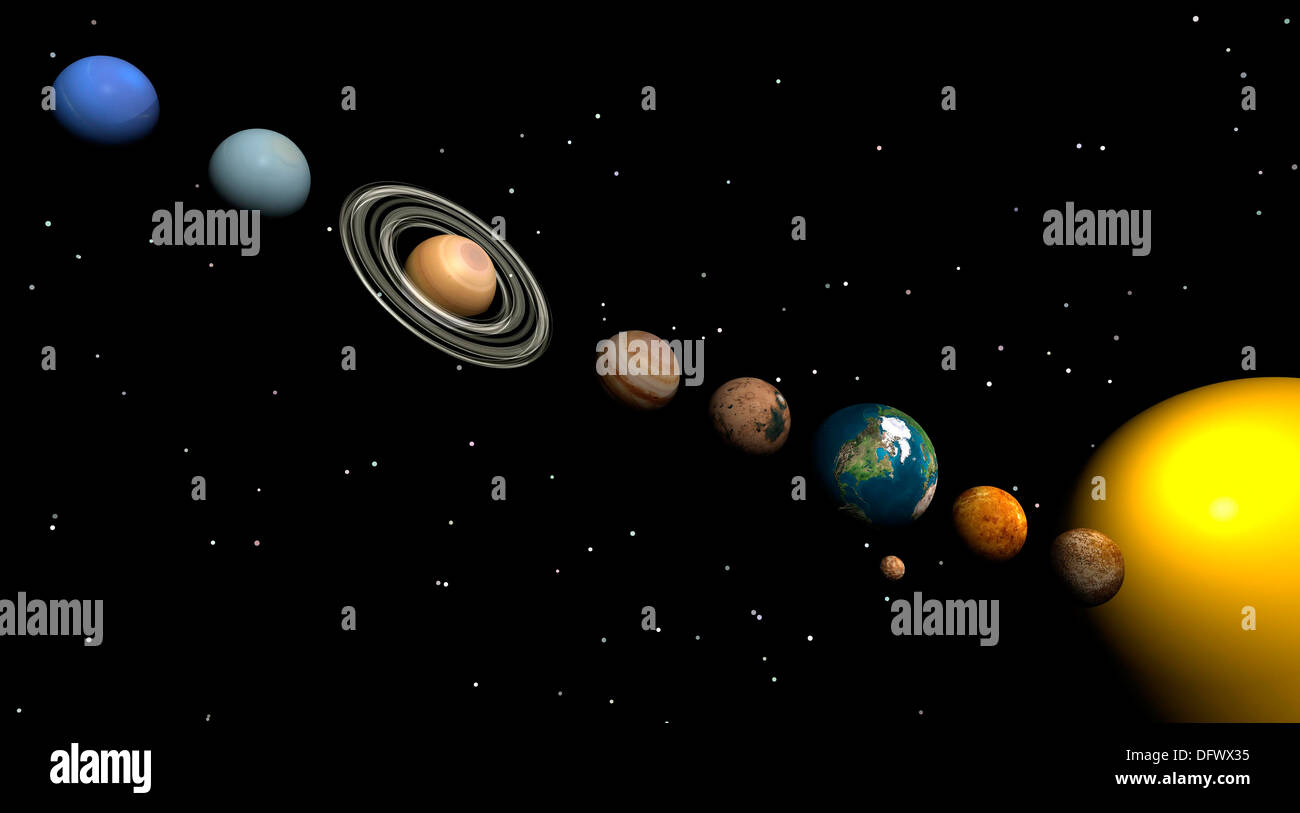 w solar system all planets - photo #21