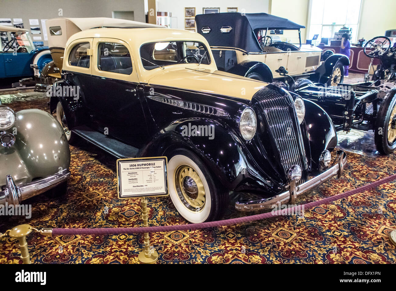 A Hupmobile The Six Series Passenger Door Sedan At