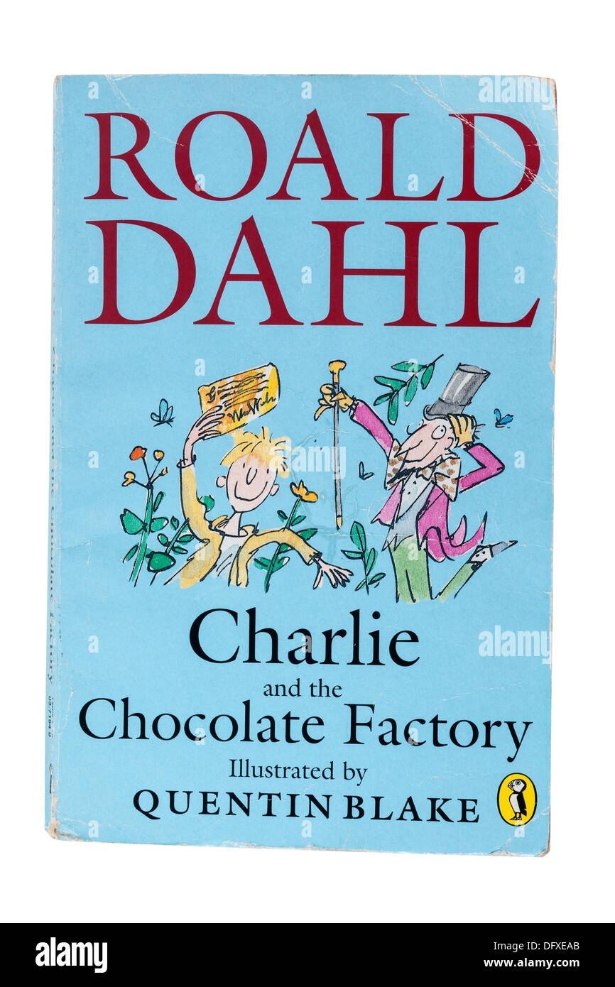 A Roald Dahl childrens book called Charlie and the Chocolate ...