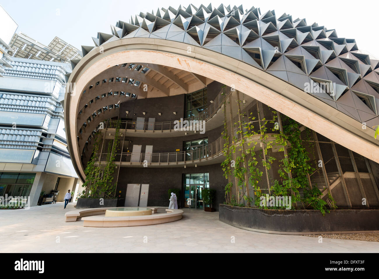 Institute Of Science And Technology At Masdar City In Abu