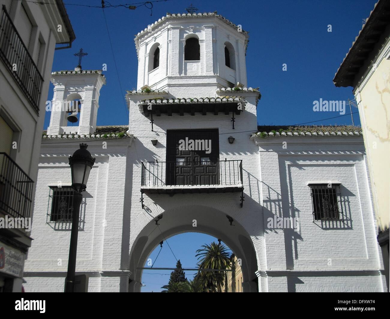 Santa fe granada espa a puerta de loja en el centro - Centro historico de madrid ...