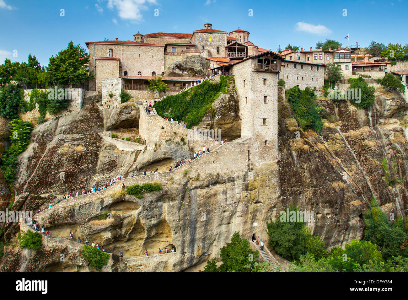 The Holy Monastery of Great Meteoron, Meteora, Thessaly ...