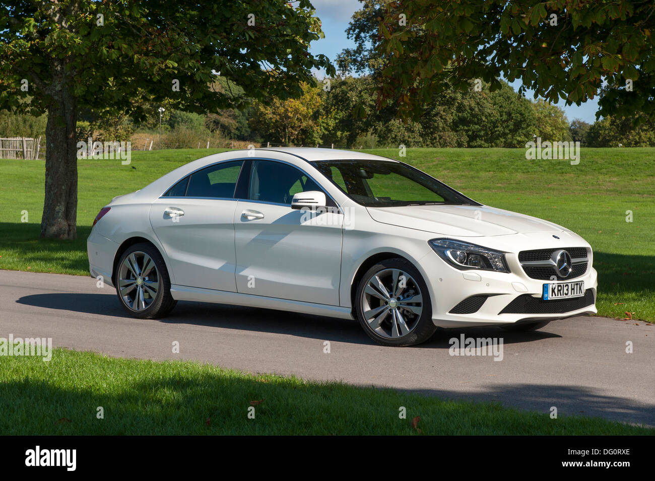 All Types 2013 mercedes cla : 2013 Mercedes Benz CLA 180 Sport Stock Photo: 61484374 - Alamy