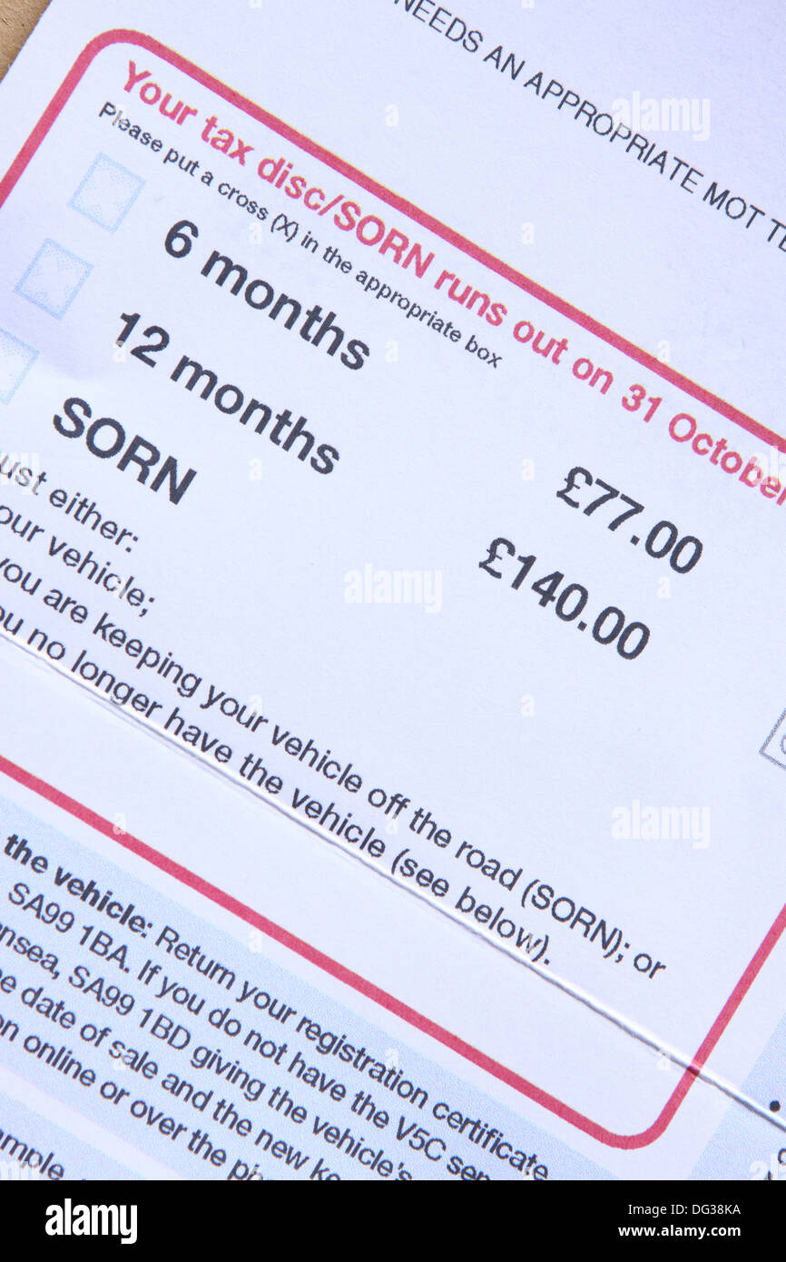 How much is 6 months road tax