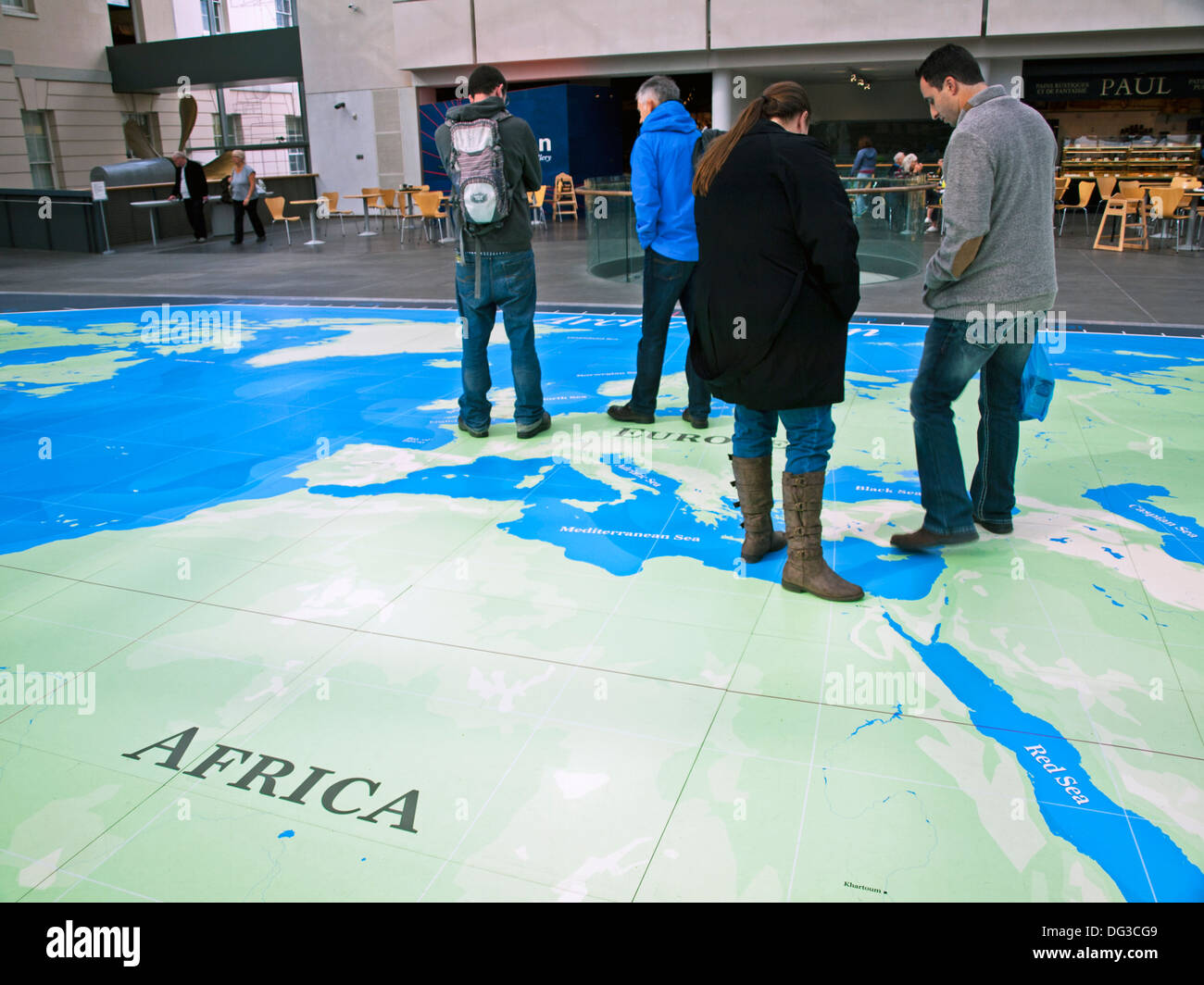 The great map at the national maritime museum greenwich london the great map at the national maritime museum greenwich london england united kingdom gumiabroncs Images