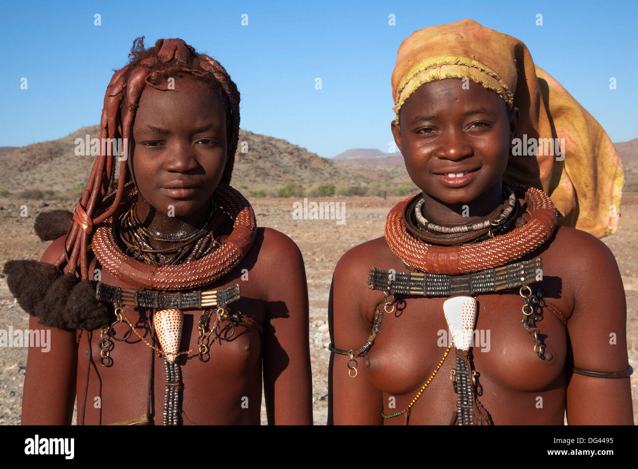 Discussion Young himba girls