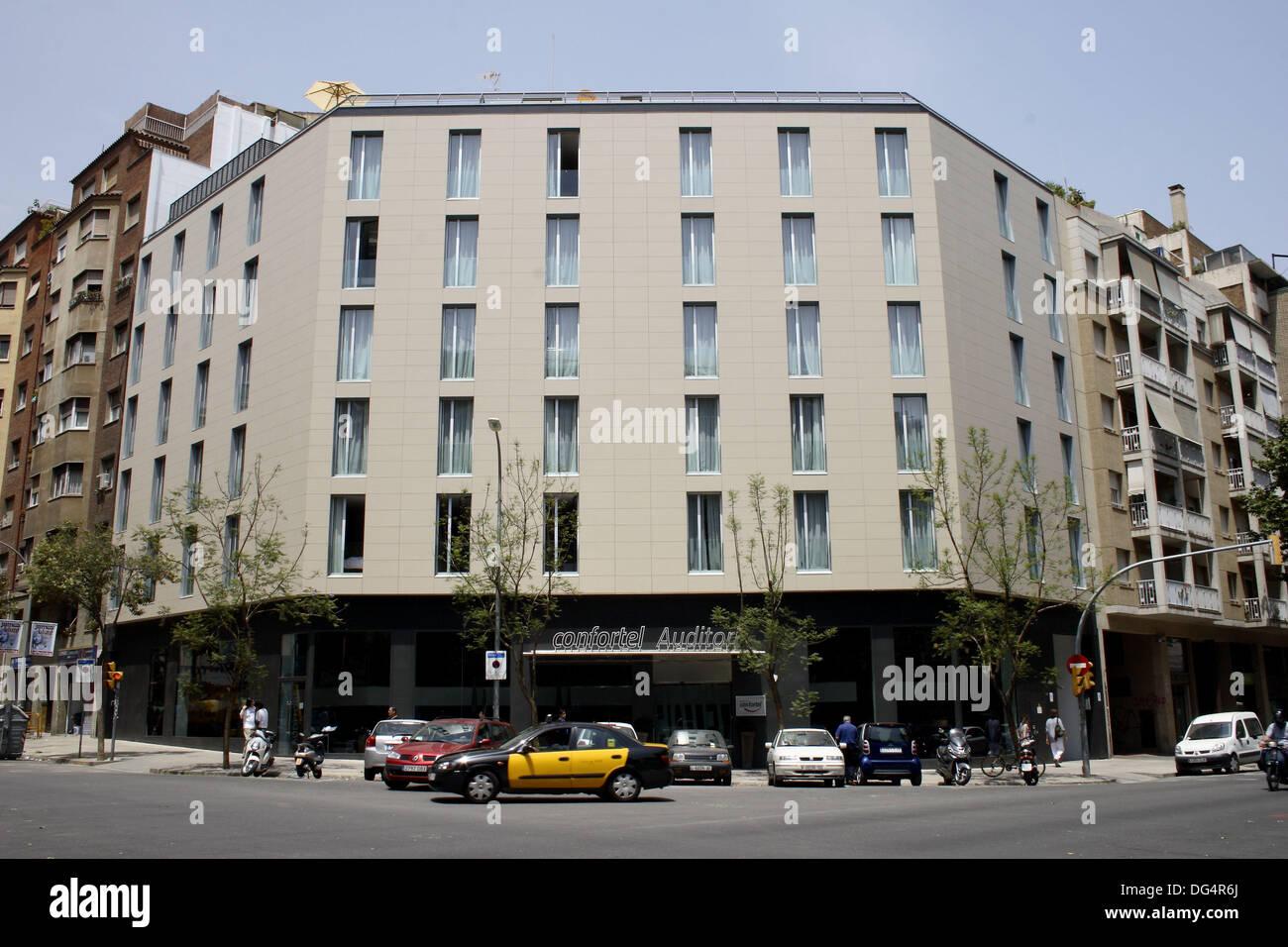 Confortel auditori hotel barcelona catalonia spain - Hotel confortel auditori ...