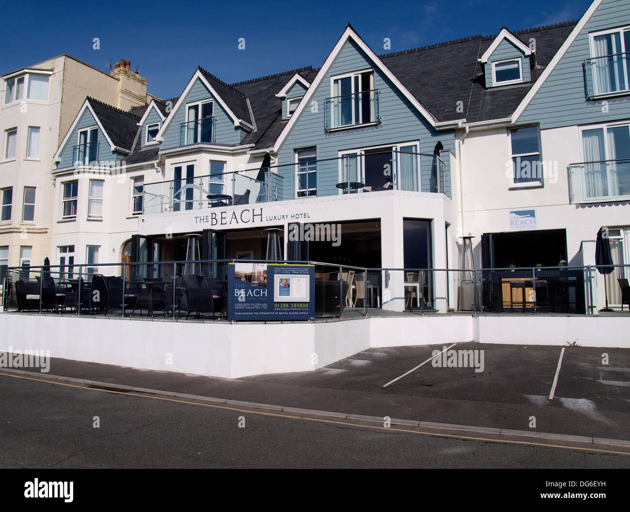 The beach hotel a luxury boutique hotel bude cornwall for Luxury boutique hotels uk