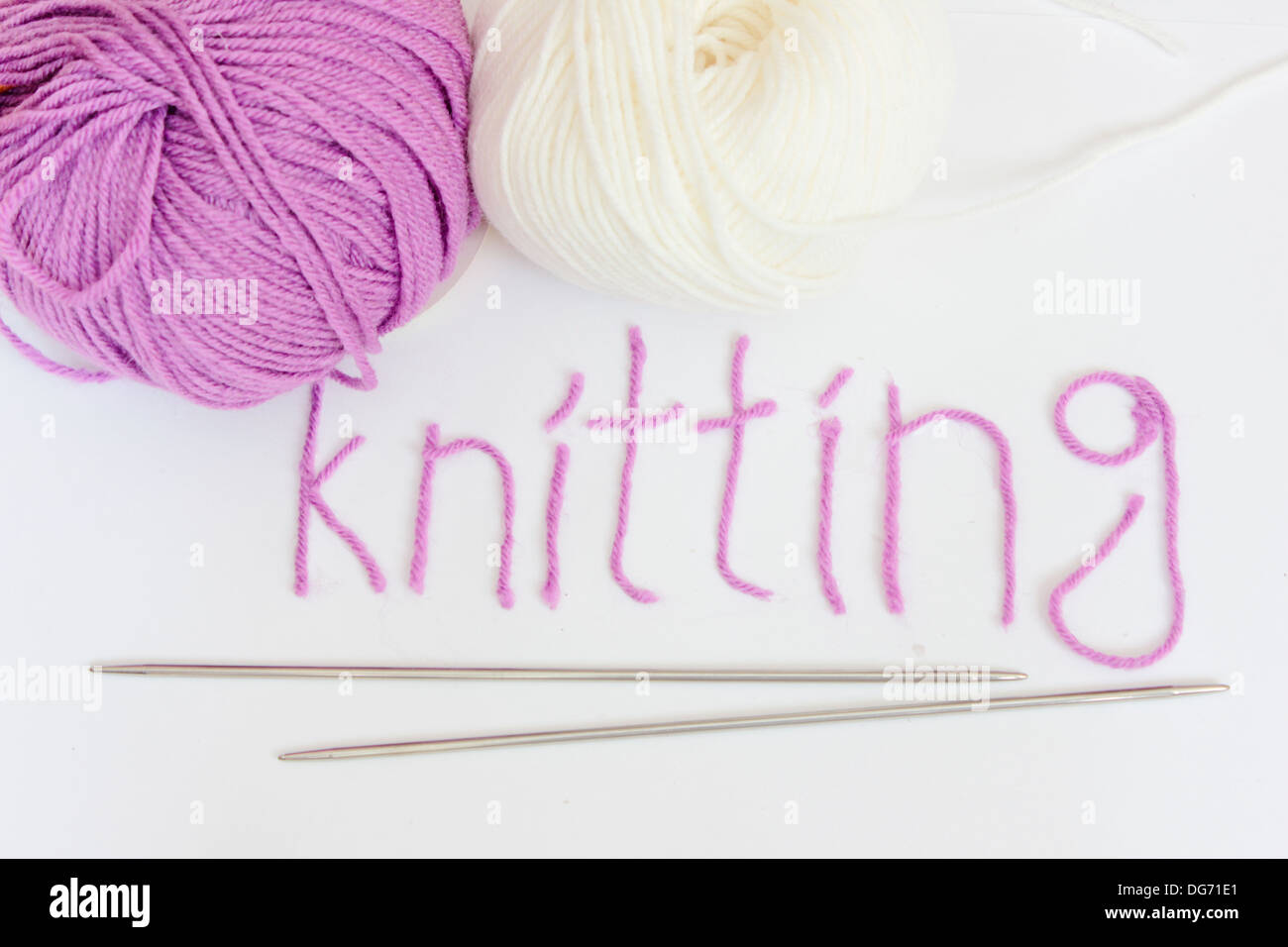 knitting quotknitting needlesquot text word crafts hobby